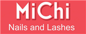 MiChi Nails and Lashes logo